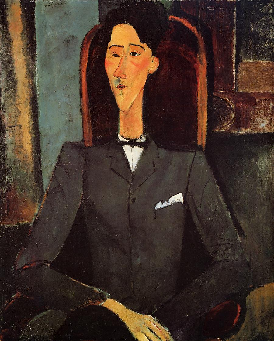 Portrait of Jean Cocteau, 1917 by Amedeo Modigliani