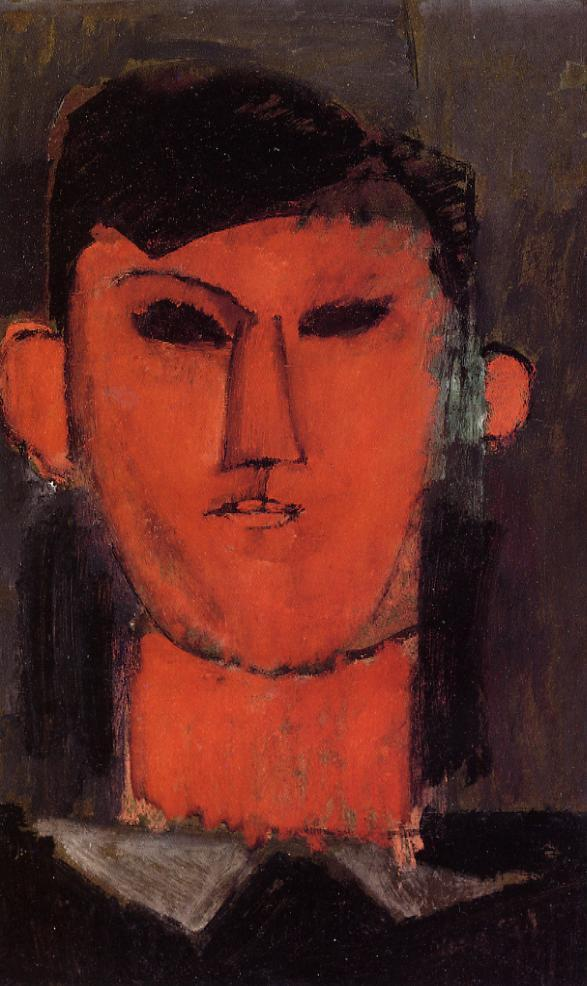 Portrait of Picasso, 1915 by Amedeo Modigliani